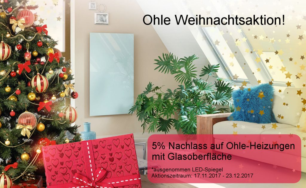 Ohle Weihnachtsaktion - 5% Nachlass