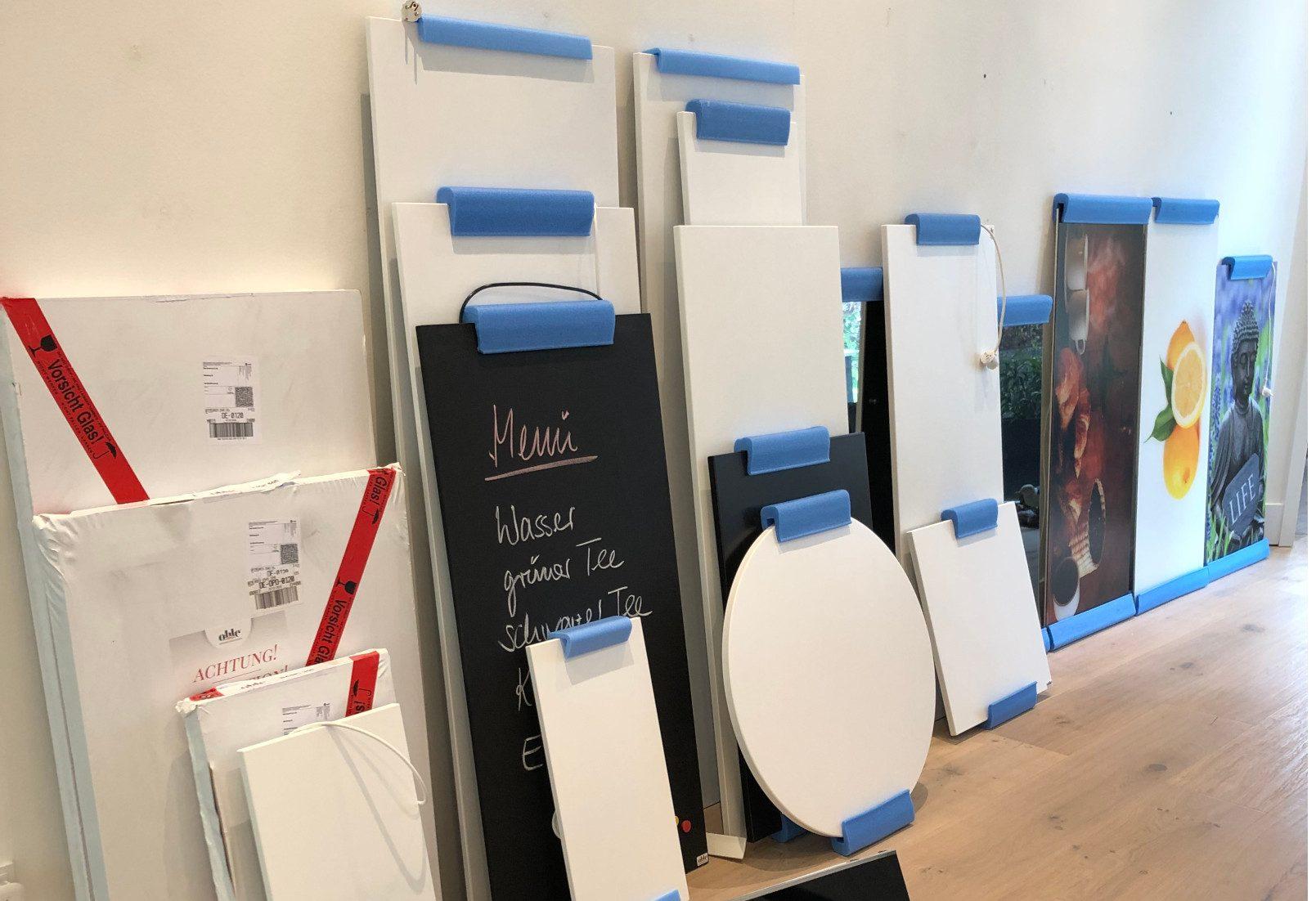 Ohle Ausstellungsstücke im Store